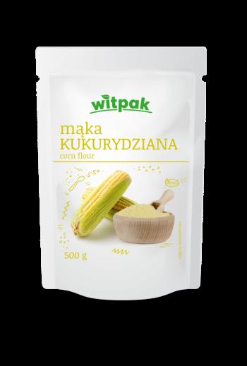 Corn flour /Mąka kukurydziana 500g WITPAK