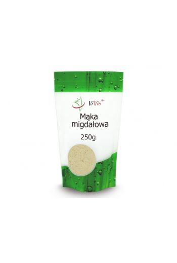 Almond flour 250g /Mąka Migdałowa 250g -VIVIO