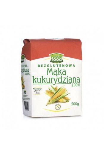 Corn flour 100% gluten free 500g / Mąka kukurydziana 100% bezglutenowa 500g  ( qty in box 4)/ LOOK FOOD