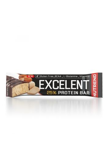 Nutrend Excelent Protein Bar 85g -Marzipan - Almonds