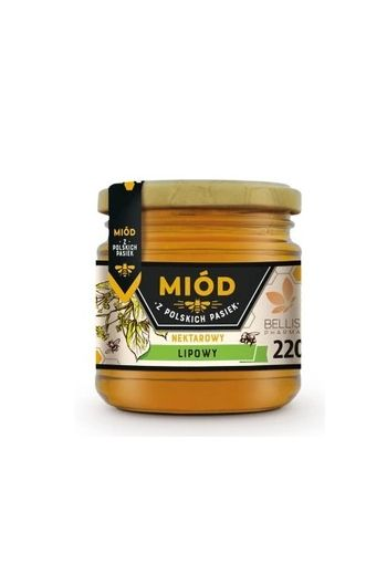 Linden honey 220g / Miód lipowy 220g
