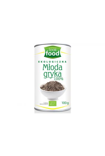 Organic young buckwheat 100g / Młoda gryka ekologiczna 100g