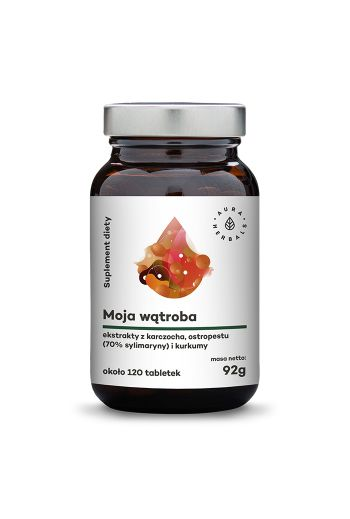 My liver artichoke + milk thistle 120 caps/ Karczoch + ostropest  120 tabletek