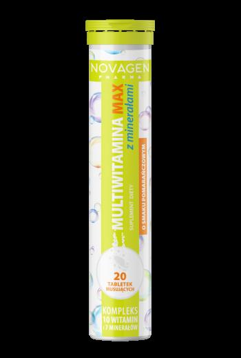 Multivitamin Max with minerals / Multiwitamina Max z minerałami Novagen Pharma