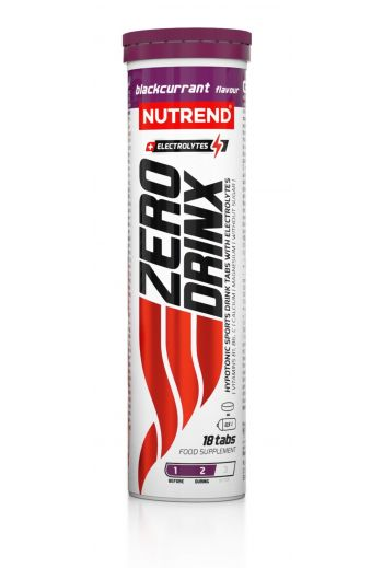 Zerodrinx 18 tabs blackcurrant / Nutrend