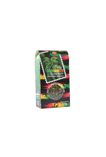 Hemp herb with a mint leaf 50g / Ziele konopii z liściem mięty 50g