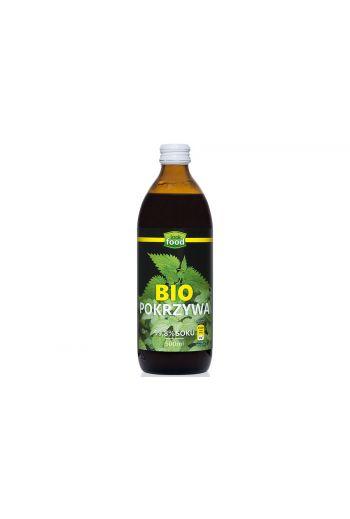 Organic Nettle juice 500ml / Sok z pokrzywy bio 500ml (qnt in box 6)  /LOOK FOOD