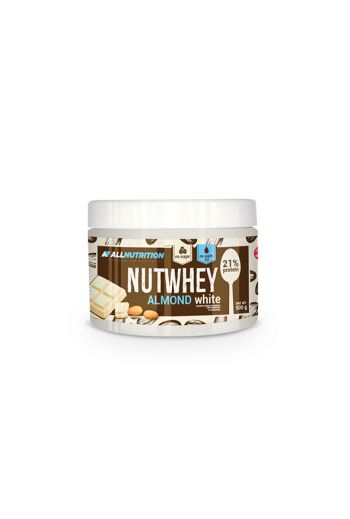 Nutwhey Almond white chocolate 500g / AN