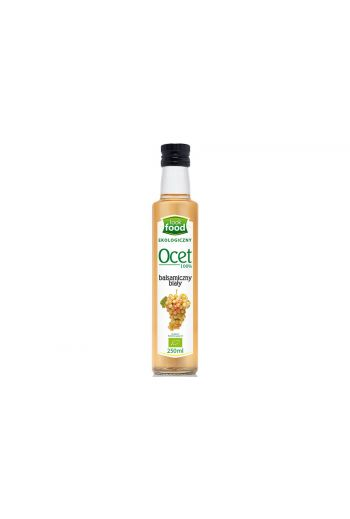 Organic white balsamic vinegar 100% 250ml / Ocet biały balsamiczny 100% 250ml (qty in box 14)/LOOK FOOD