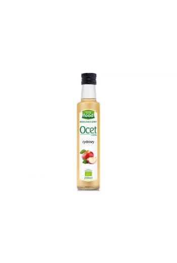 Organic cider vinegar 100% 250ml / Ocet cydrowy ekologiczny 100% 250ml ( qty in box 14)/LOOK FOOD