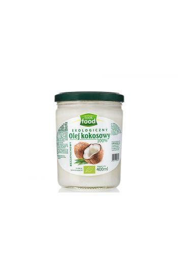 Organic coconut oil 100% 400ml / Olej kokosowy ekologiczny 100% 400ml (qty in 6) LOOK FOOD
