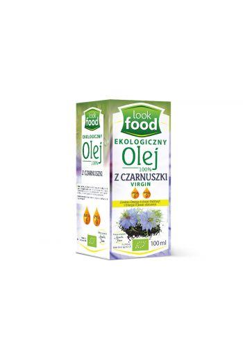 Organic oil with cumin 100% 100ml / Olej z czarnuszki ekologiczny 100% 100ml (qnt in box 6)  /LOOK FOOD