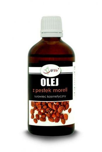 Apricot kernel oil refined 100ml / Olej z pestek moreli 100ml rafinowany / Vivio