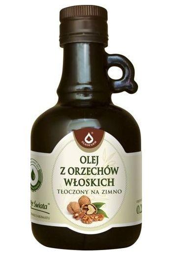 Walnut oil 250ml / Olej z orzechów włoskich 250ml / Oleofarm