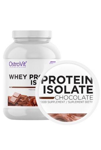 OstroVit Whey protein isolate, chocolate flavor 700g