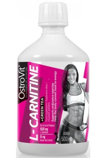 L-Carnitine + Green tea500ml  /OV