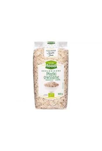 Organic instant oat flakes 100% 300g / Płatki owsiane błyskawiczne ekologiczne 100% 300g ( qty in box 6)   /LOOK FOOD