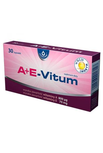 A + E -Vitum  30 caps /Oleofarm