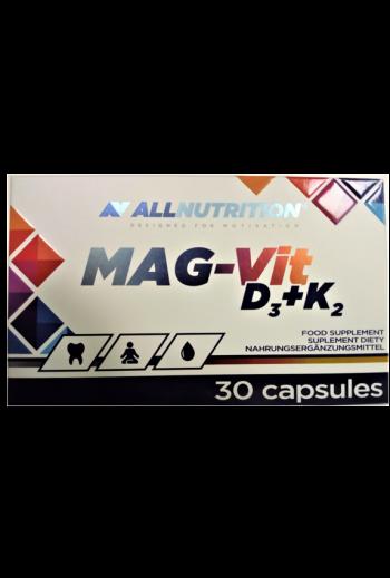 Mag-Vit D3+K2 30 Caps / AN