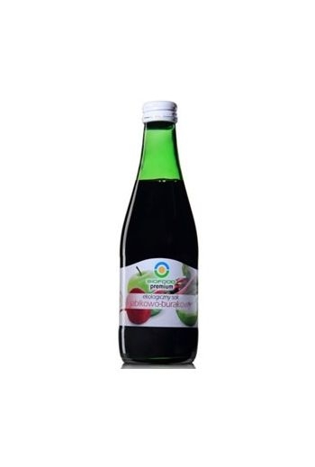 Organic juice apple-beetroot 300ml / Organiczny sok jabłko-burak 300ml