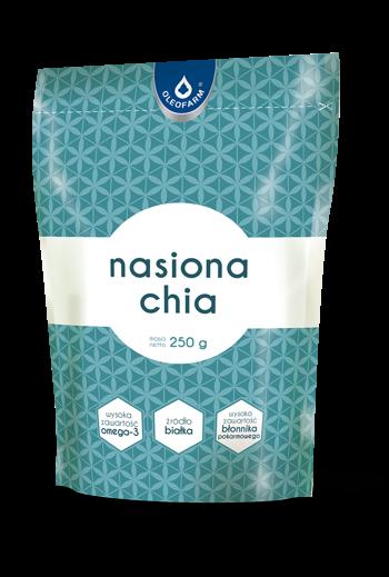 Chia seeds 250g / Nasiona Chia 250g / Oleofarm