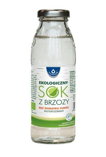 Organic birch juice 300 ml / Sok z brzozy ekologiczny 300ml / Oleofarm
