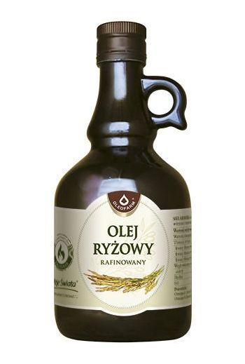 Rice oil 500ml / Olej ryżowy 500ml / Oleofarm