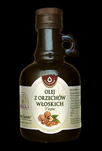 Olej z orzechów włoskich 250ml / Walnut oil 250ml