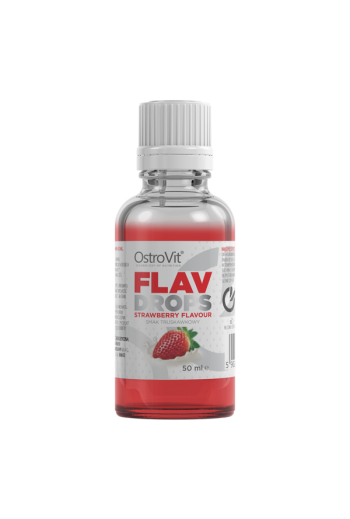 Flavour Drops 50 ml-Strawberry