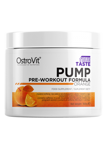 PUMP Pre-Workout Formula 300 g-Orange