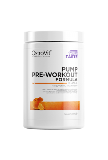 PUMP Pre-Workout Formula 500 g-Orange