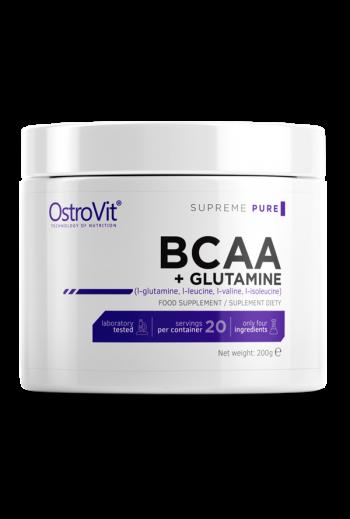 OstroVit 100% BCAA + GLUTAMINE 200 G