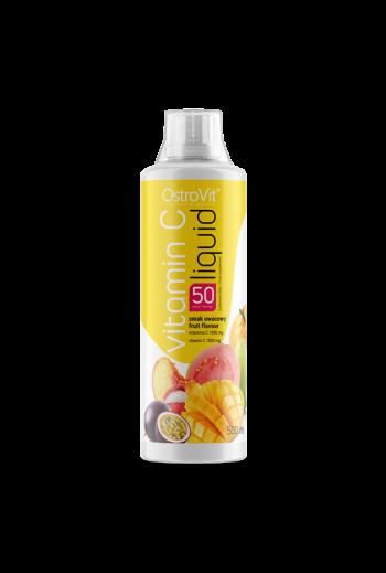 Vitamin C liquid fruit flavour / Witamina C w płynie o smaku owocowym 500ml