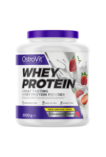Whey protein 2000g-Strawberry /OV