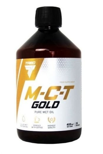 MCT Gold Oil 400 ml / Olej MCT Gold 400ml / Trec