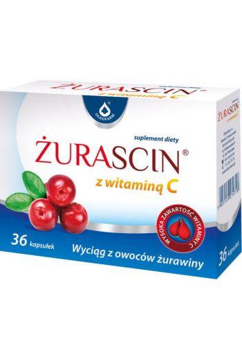 Oleofarm Zurascin With Vitamin C, 36 caps / Zurascin Z Witamina C