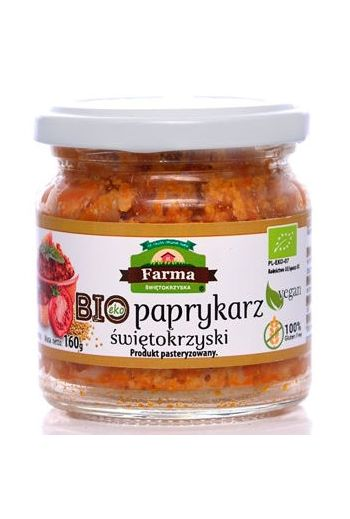 Organic Swietokrzyski Paprykarz 160g