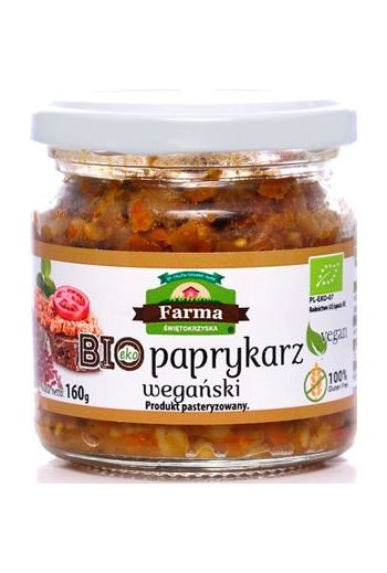 Organic Vegan Paprykarz 160g / Bio Paprykarz Weganski