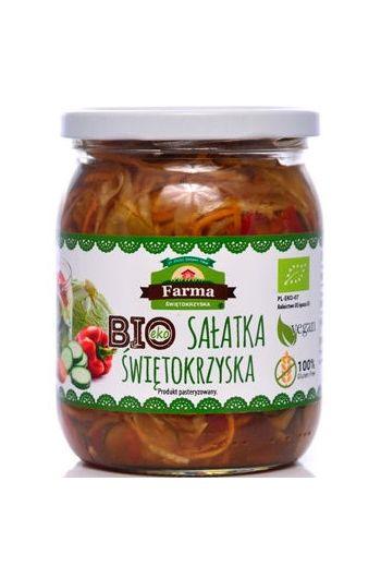 Organic Swietokrzyska Salad 480g / Bio Salatka Swietokrzyska