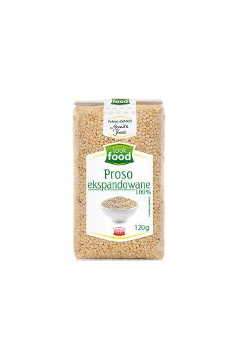 Millet expanded 100% 120g / Proso ekspandowane 100% 120g ( qty in box 7)/ LOOK FOOD
