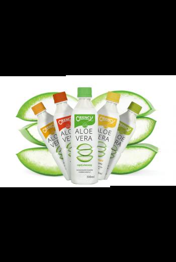 Qeency aloe vera drink/Qeency Napój Aloesowy 43% 0,5l