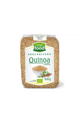 Organic quinoa 100% 300g / Quinoa ekologiczna 100% 300g ( qty in box 8)   /LOOK FOOD