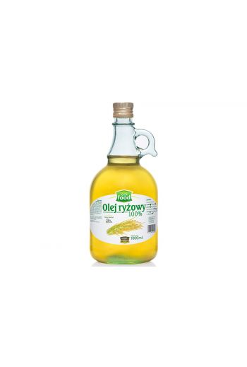 Rice oil 100% 1000ml / Olej ryżowy 100% 1000ml (qnt in box 3) /LOOK FOOD