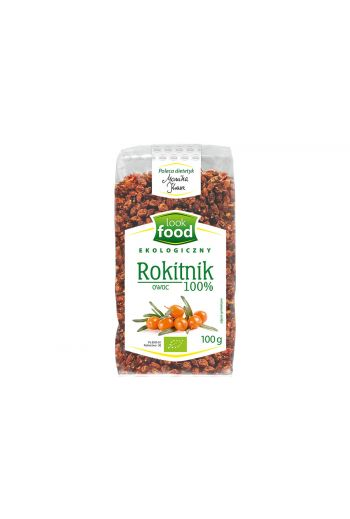 Organic sea buckthorn fruit 100% 100g /  Rokitnik owoce ekologiczny 100% 100g   (qnt in box 14) /LOOK FOOD