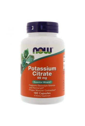 Potassium Citrate 99mg 180caps / NOW