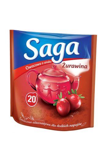 Saga Tea flavored 20 tea bags /Herbata Saga smakowa 20 torebek