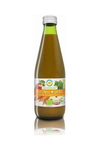 Organic juice carrot- apple 300ml / Organiczny sok marchew-jabłko 300ml