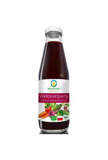 Organic juice of pickled multi-vegetables 300ml / Sok wielowarzywny kiszony ekologiczny 300ml