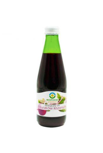 Organic juice of pickled beetroot 300ml / Sok z buraków kiszonych ekologiczny 300ml  / Biofood
