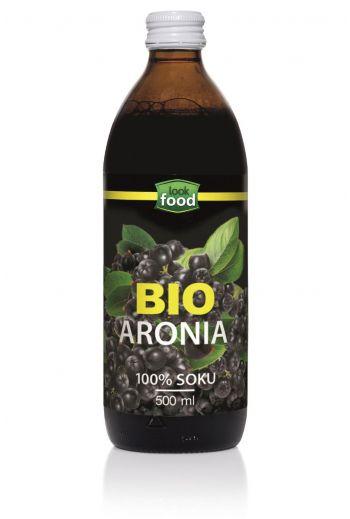Organic Chokeberry juice 500ml / Sok z aronii bio 500ml ( qty in box 6)/ LOOK FOOD